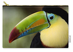 Close-up Of Keel-billed Toucan Carry-all Pouch