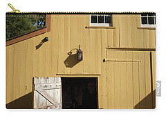 Close Up Of Landis Valley Yellow Barn Carry-all Pouch