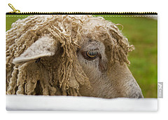 Close-up Of Leicester Longwool Carry-all Pouch