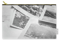 Close Up On Old Black And White Photographs Carry-all Pouch