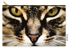 Close Up Shot Of A Cat Carry-all Pouch