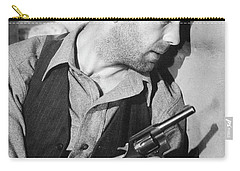 Close-up Up F Humphrey Bogart As Duke Mantee With Gun The Petrified Forest 1936 Carry-all Pouch
