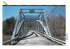 Road Closed To Traffic Carry-all Pouch by Catherine Gagne