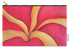 Closeup Of Red Rose Carry-all Pouch