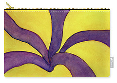 Closeup Of Yellow Rose Carry-all Pouch