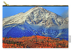 Carry-all Pouch featuring the photograph Closing In On Fall by Scott Mahon