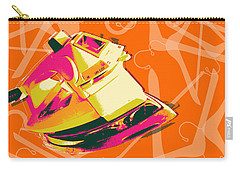 Carry-all Pouch featuring the digital art Flat Iron  by Jean luc Comperat