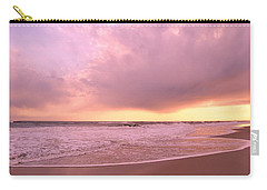 Carry-all Pouch featuring the photograph Cloud And Water by Karen Silvestri