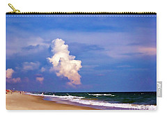 Carry-all Pouch featuring the photograph Cloud Approaching by Roberta Byram