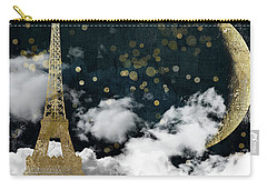 Cloud Cities Paris Carry-all Pouch by Mindy Sommers