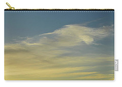 Carry-all Pouch featuring the photograph Cloud Composition  by Lyle Crump