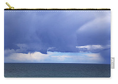 Carry-all Pouch featuring the photograph Cloud Curtain by Nareeta Martin