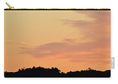 Carry-all Pouch featuring the photograph Cloud Edge Over The Trees  by Lyle Crump