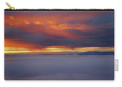 Cloud Layer Sunrise At Dead Horse Point State Park Carry-all Pouch