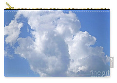 Carry-all Pouch featuring the photograph Cloud M1 by Francesca Mackenney