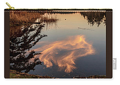 Cloud On Cranberry Lake Carry-all Pouch by Tony Locke