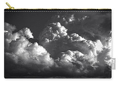 Carry-all Pouch featuring the photograph Cloud Power Over The Lake by John Norman Stewart
