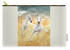 Carry-all Pouch featuring the photograph Cloud Runners by Melinda Hughes-Berland
