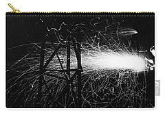 Carry-all Pouch featuring the photograph Cloud Seeding, 1948 by Granger