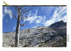 Cloud Stretch Lower Cathedral Lake Carry-all Pouch by Amelia Racca