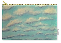 Cloud Study Cropped Image Carry-all Pouch