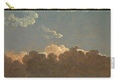 Cloud Study. Distant Storm Carry-all Pouch by Simon Denis