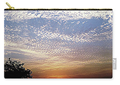 Cloud Swirl At Sunrise Carry-all Pouch