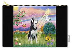 Cloudangel #1 - Siberian Husky Carry-all Pouch