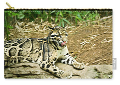 Clouded Leopard 1 Carry-all Pouch
