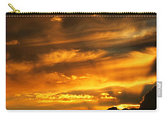 Clouded Sunset Carry-all Pouch