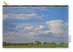 Clouds Aboive The Tree Farm Carry-all Pouch