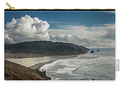 Clouds Above Coast Pano Carry-all Pouch