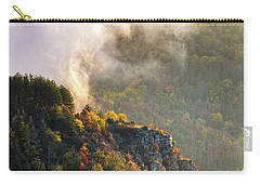 Clouds Above The Crest Of The Mountain Carry-all Pouch