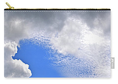 Clouds And Blue Skies Carry-all Pouch