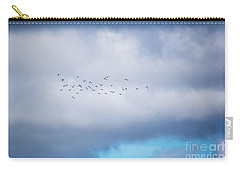 Clouds And Ducks Carry-all Pouch