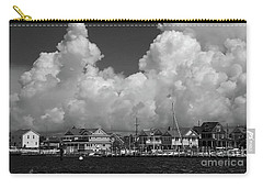 Clouds And Shore Houses Carry-all Pouch
