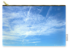 Clouds And Sky Carry-all Pouch