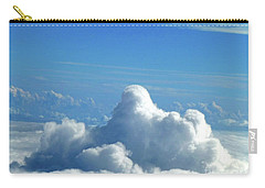 Carry-all Pouch featuring the photograph Clouds And Sky M3 by Francesca Mackenney
