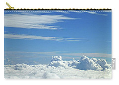 Carry-all Pouch featuring the photograph Clouds And Sky M4 by Francesca Mackenney