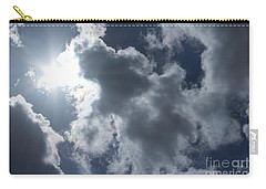 Carry-all Pouch featuring the photograph Clouds And Sunlight by Megan Dirsa-DuBois