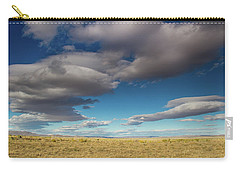 Clouds In Fields Oregon Carry-all Pouch