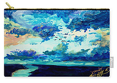 Clouds Carry-all Pouch by Melinda Dare Benfield