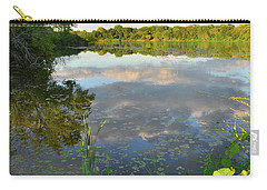 Clouds Mirrored In Snug Harbor Carry-all Pouch