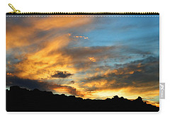 Clouds Of Liquid Gold Carry-all Pouch by Glenn McCarthy Art and Photography