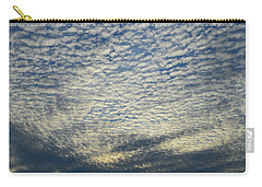 Carry-all Pouch featuring the photograph Clouds Of That Day  by Lyle Crump