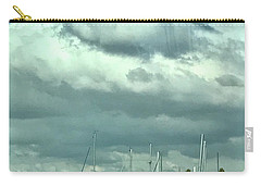 Carry-all Pouch featuring the photograph Clouds On The Bay by Kim Nelson