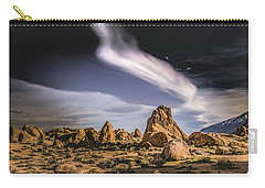 Clouds Over Alabama Hills Carry-all Pouch