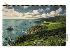 Clouds Over Bixby Bridge Carry-all Pouch