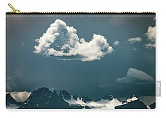 Carry-all Pouch featuring the photograph Clouds Over Glacier, Banff Np by William Lee