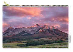Clouds Over Hayden At Sunset Carry-all Pouch